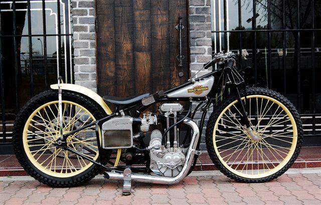 Oryginalna żużlówka  Harley Davidson CAC.